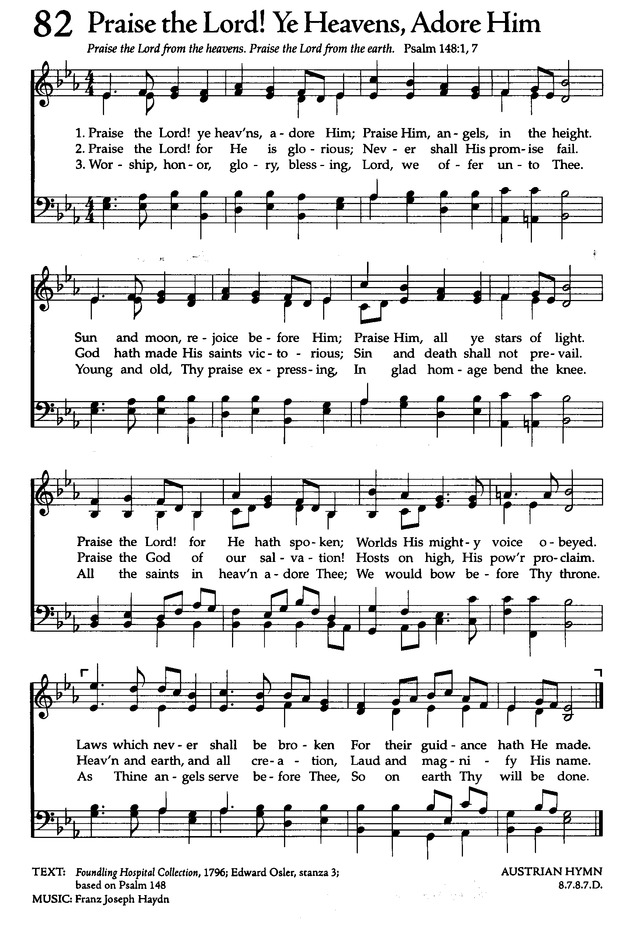 The Celebration Hymnal: songs and hymns for worship page 98