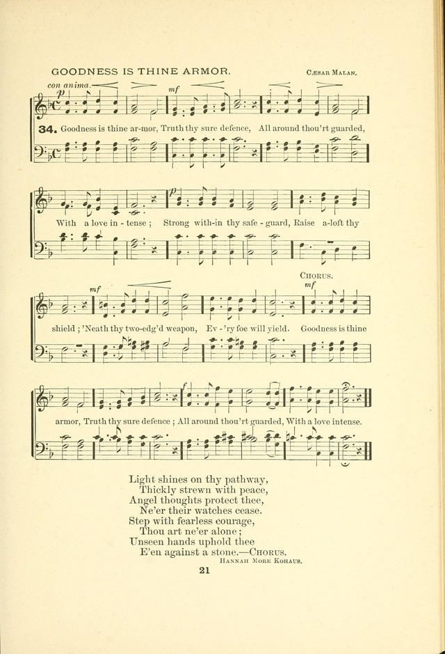 A Collection of Familiar and Original Hymns with New Meanings. 2nd ed. page 21