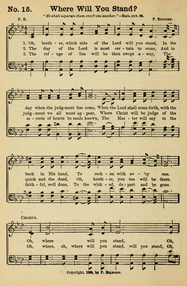 Crowning Glory No. 1: a choice collection of gospel hymns page 14