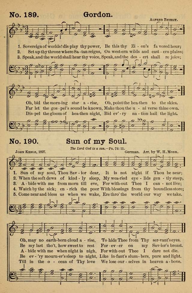 Crowning Glory No. 1: a choice collection of gospel hymns page 193