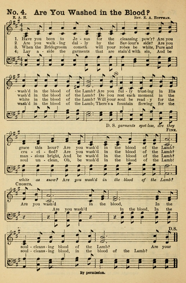 Crowning Glory No. 1: a choice collection of gospel hymns page 4