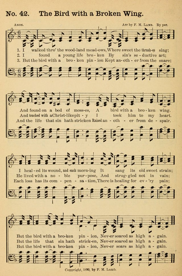 Crowning glory no. 2: a collection of gospel hymns page 49