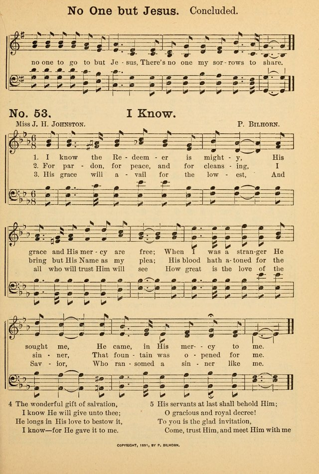 Crowning glory no. 2: a collection of gospel hymns page 60