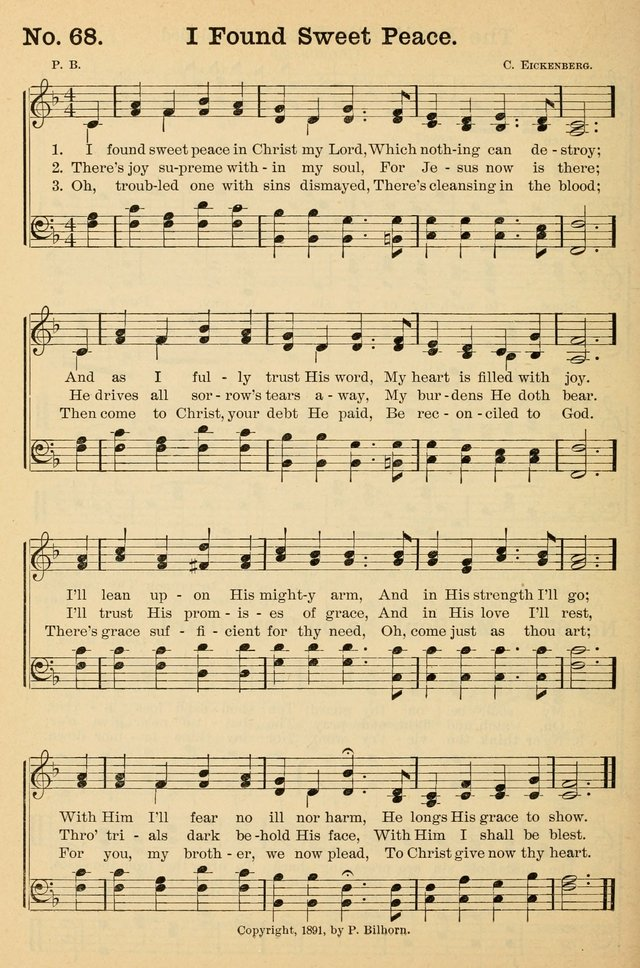 Crowning glory no. 2: a collection of gospel hymns page 75