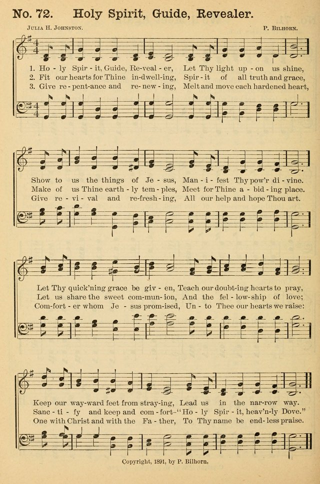 Crowning glory no. 2: a collection of gospel hymns page 79