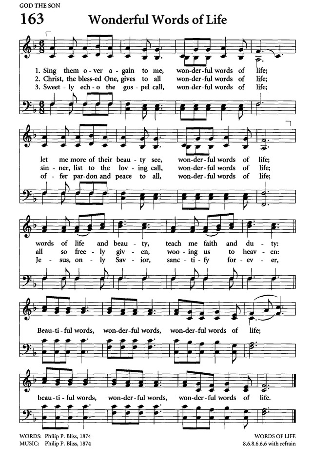 Wonderful Words of Life - Hymnary.org