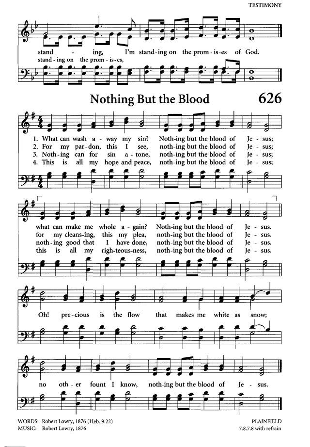Gospel hymns guitar