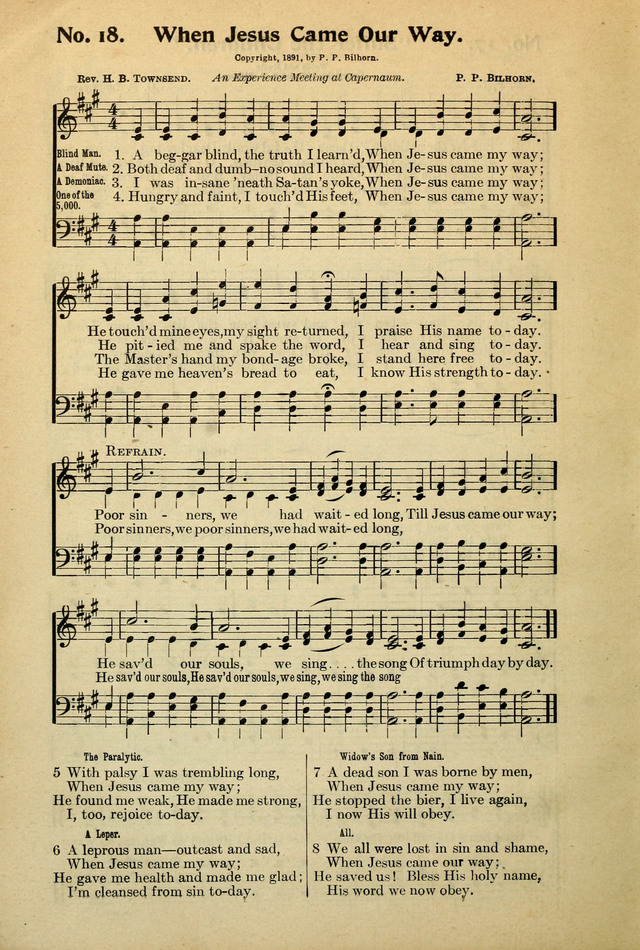 The Century Gospel Songs page 18