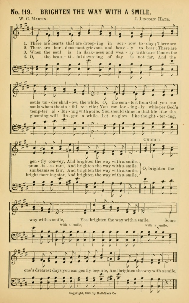 Christian Hymns No. 1 page 119