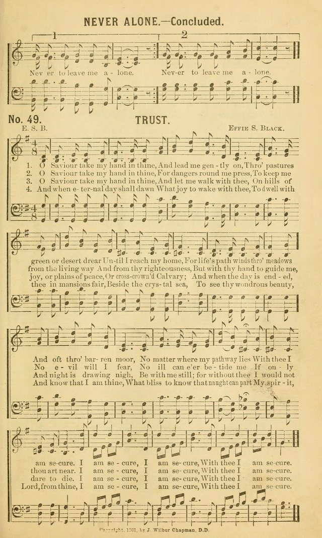 Choice Hymns No. 1: for use in the church, Sunday-school, young people