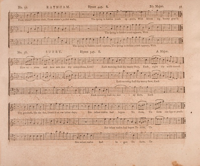 The Christian Harmonist: containing a set of tunes adapted to all the metres in Mr. Rippon