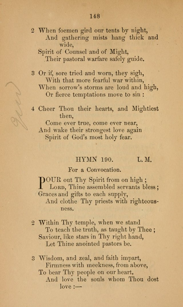 A Collection of Hymns page 148