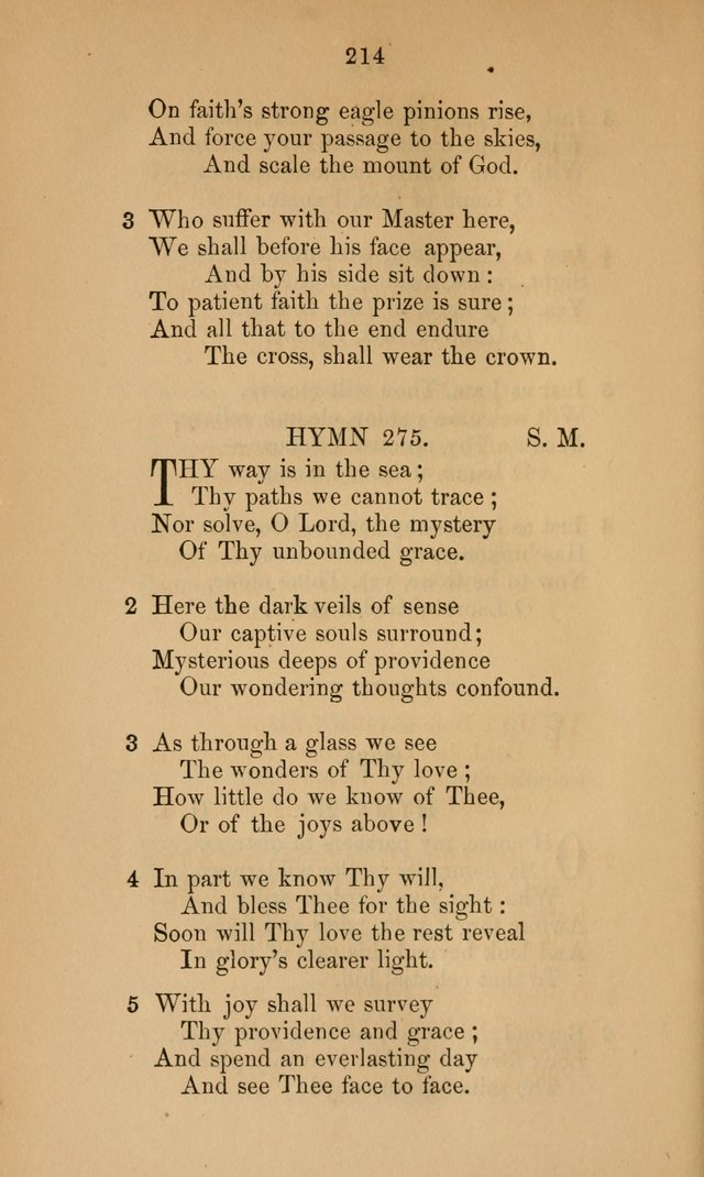 A Collection of Hymns page 214