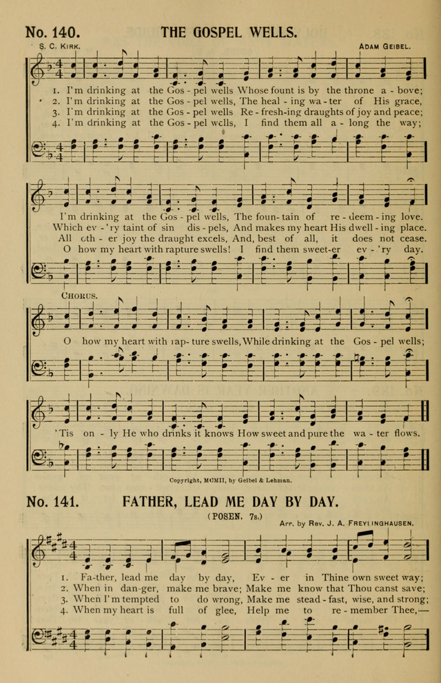 Consecrated Hymns page 116