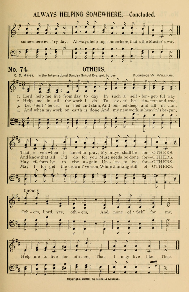 Consecrated Hymns page 65