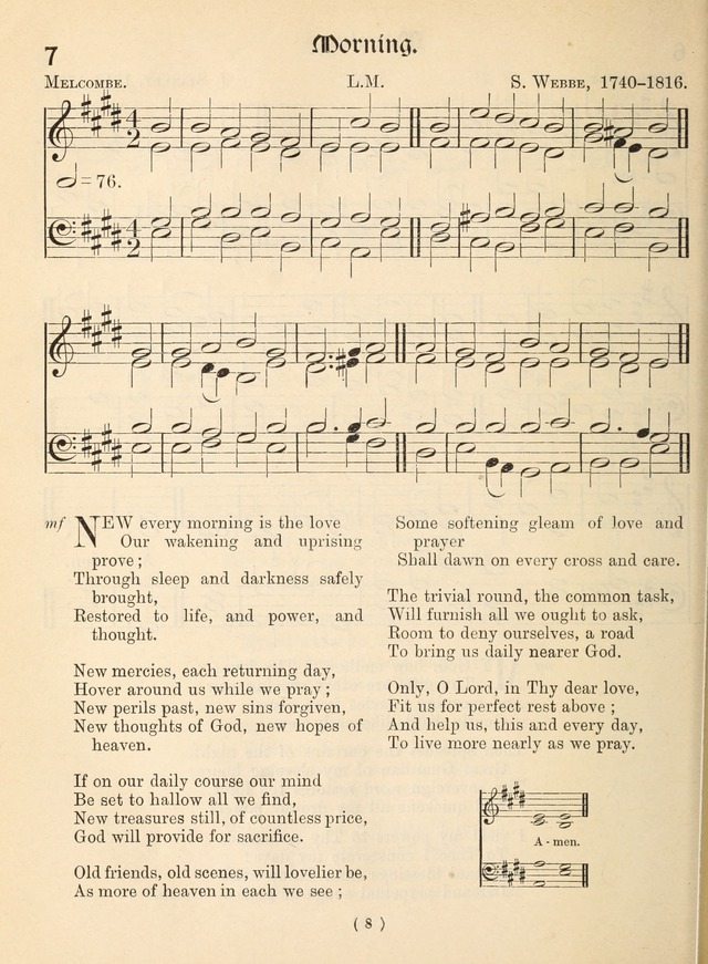 Church Hymns: with tunes (New ed.) page 8
