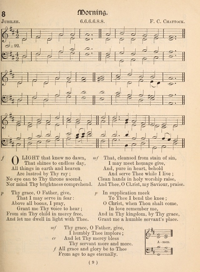 Church Hymns: with tunes (New ed.) page 9