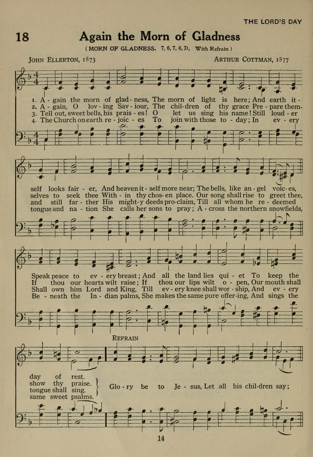 The Century Hymnal page 14
