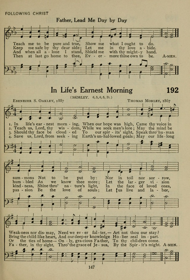 The Century Hymnal page 147