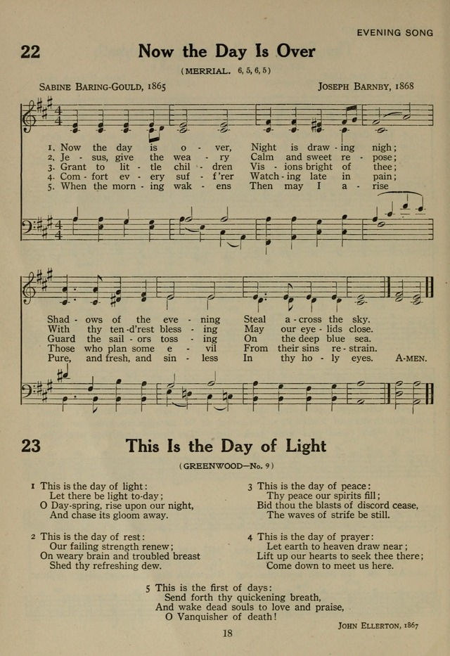 The Century Hymnal page 18