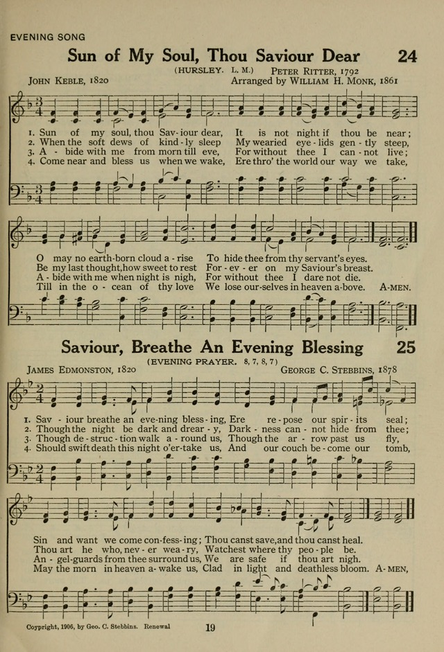 The Century Hymnal page 19