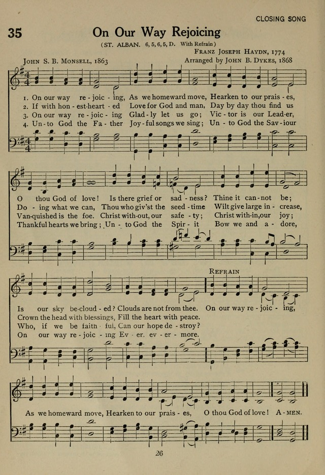 The Century Hymnal page 26