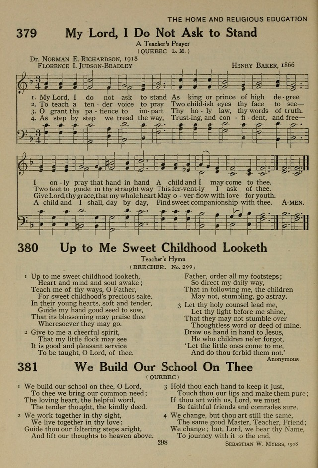 We build our school on thee, O Lord | Hymnary org