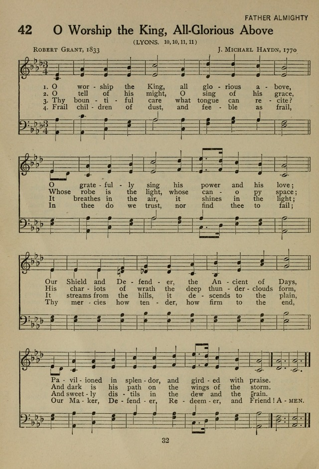 The Century Hymnal page 32