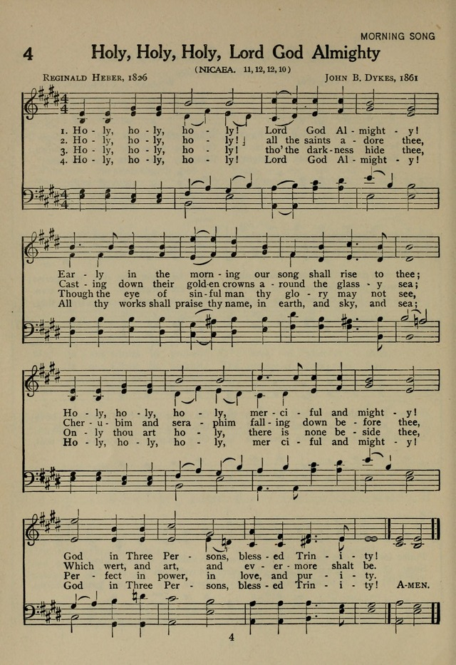 The Century Hymnal page 4