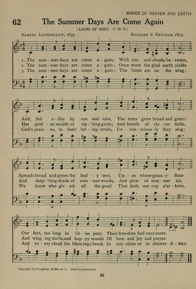 The Century Hymnal page 48