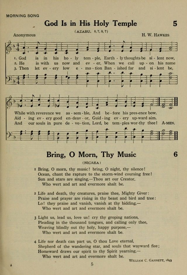 The Century Hymnal page 5