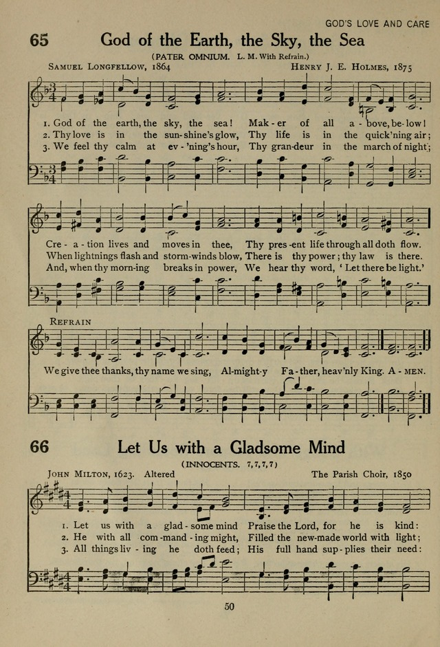 The Century Hymnal page 50