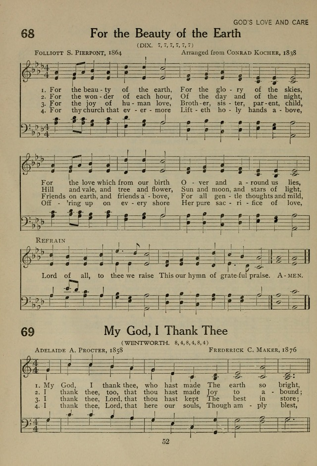 The Century Hymnal page 52