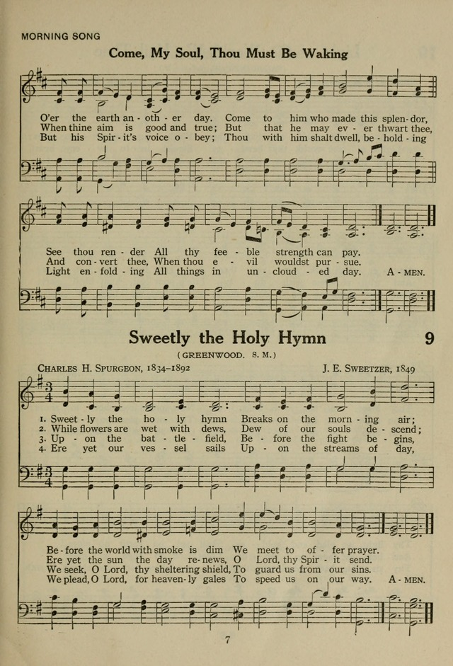 The Century Hymnal page 7