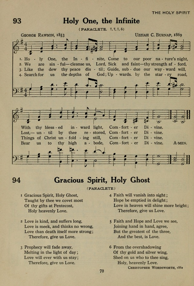 The Century Hymnal page 70