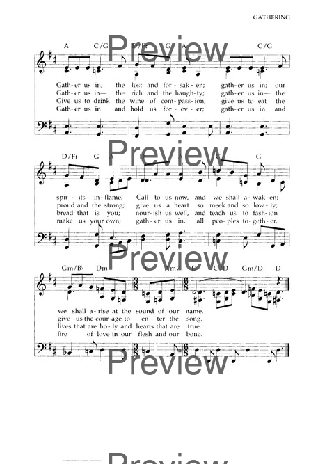 Chalice Hymnal page 281