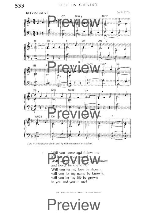 Church hymnary 4 full music edition: church hymnary trust.