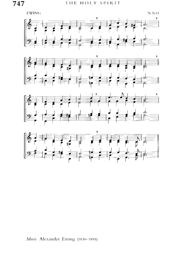 Church Hymnary (4th ed.) page 1380