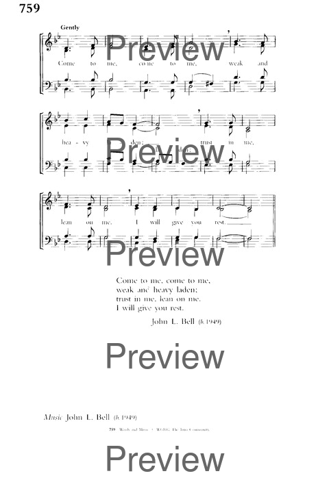 Church Hymnary (4th ed.) page 1397