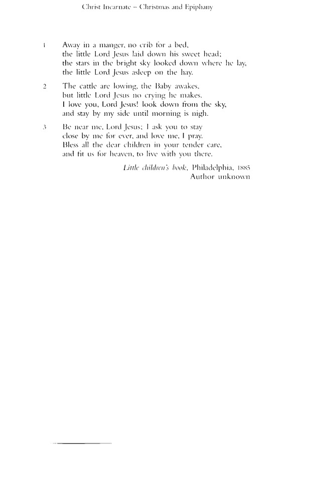 The church hymnary–revised edition (1927) | gathered prayers.
