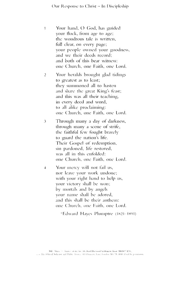 Thy Hand, O God, Has Guided | Hymnary.org