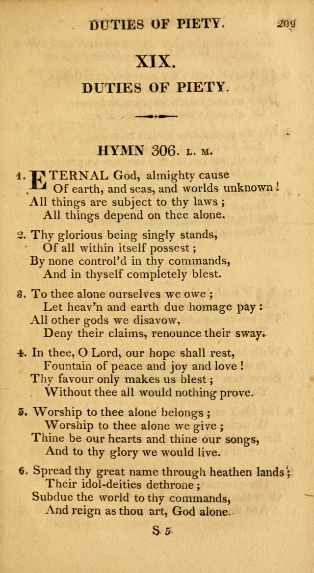 A Collection of Hymns and A Liturgy: for the use of Evangelical Lutheran Churches; to which are added prayers for families and individuals page 209