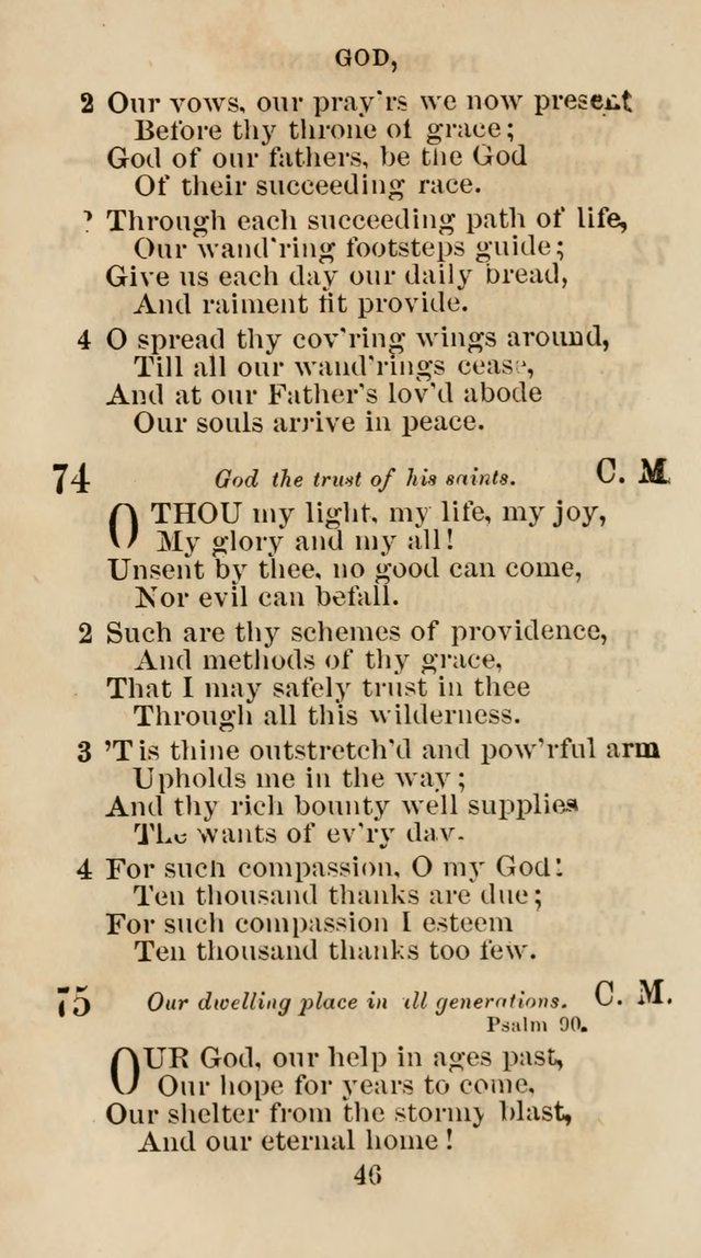 The Christian Hymn Book: a compilation of psalms, hymns and spiritual songs, original and selected (Rev. and enl.) page 55