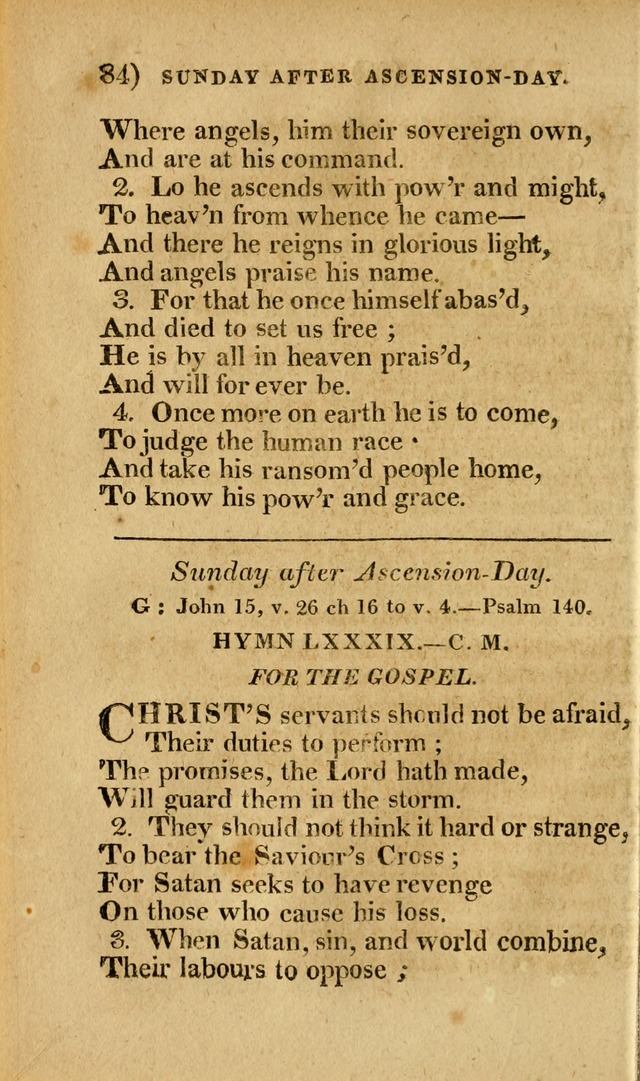 Church Hymn Book: consisting of newly composed hymns with the addition of hymns and psalms, from other authors, carefully adapted for the use of public worship, and many other occasions (1st ed.) page 103