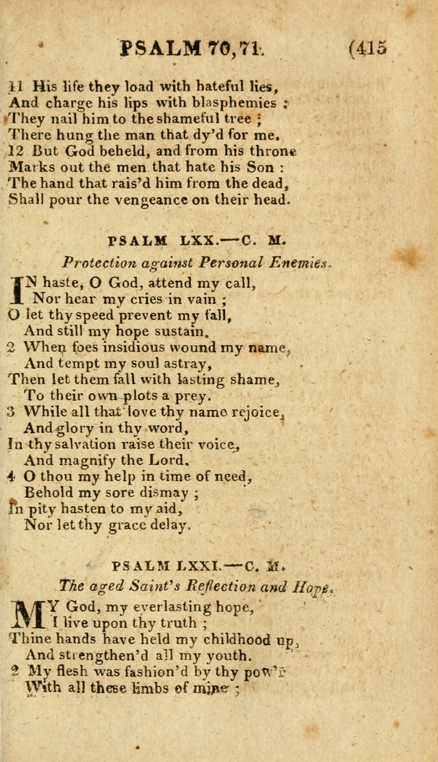 Church Hymn Book: consisting of newly composed hymns with the addition of hymns and psalms, from other authors, carefully adapted for the use of public worship, and many other occasions (1st ed.) page 434