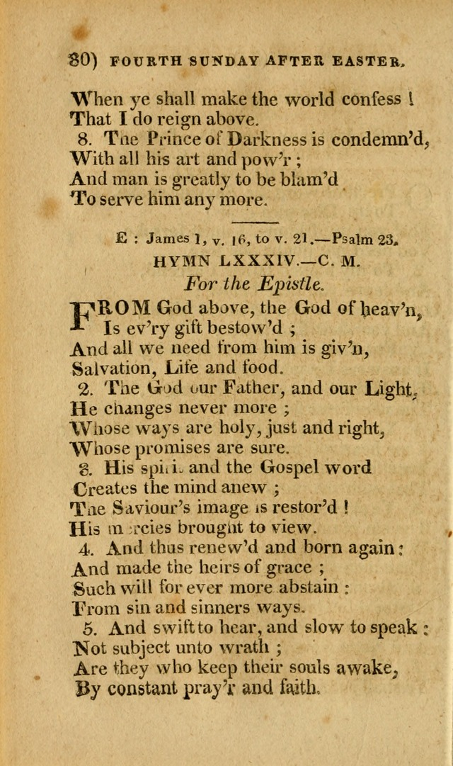 Church Hymn Book: consisting of newly composed hymns with the addition of hymns and psalms, from other authors, carefully adapted for the use of public worship, and many other occasions (1st ed.) page 99
