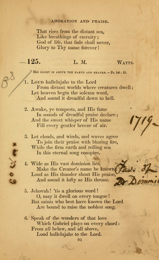 The Congregational Hymn Book: for the service of the sanctuary page 151