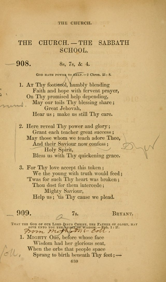 The Congregational Hymn Book: for the service of the sanctuary page 692