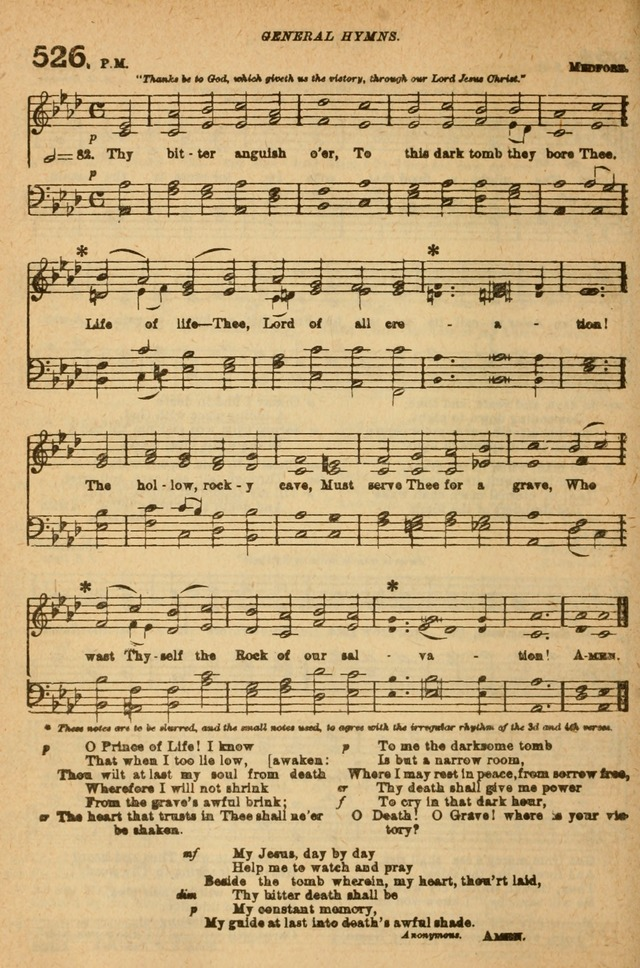 The Church Hymnal with Canticles page 461