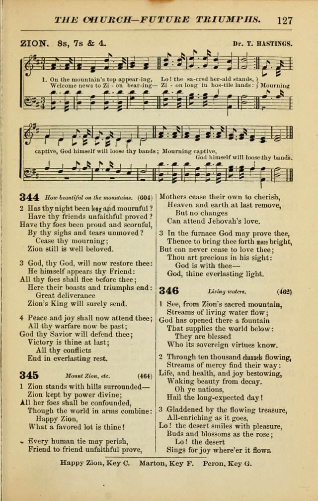 The Christian Hymnal: a choice collection of hymns and tunes for congregational and social worship page 127
